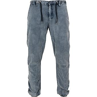 Urban classics men's acid washed corduroy pants