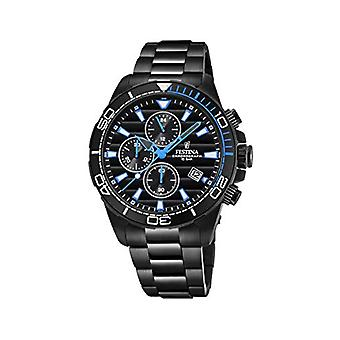 Festina Chronograph quartz men's Watch with stainless steel band F20365/2