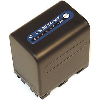 Batteri til Sony NP-QM91D Handycam HVR-A1 DCR-HC14 DCR-HC14E HDR-HC1 NP-FM50 DCR-TRV280 DCR-TRV285E