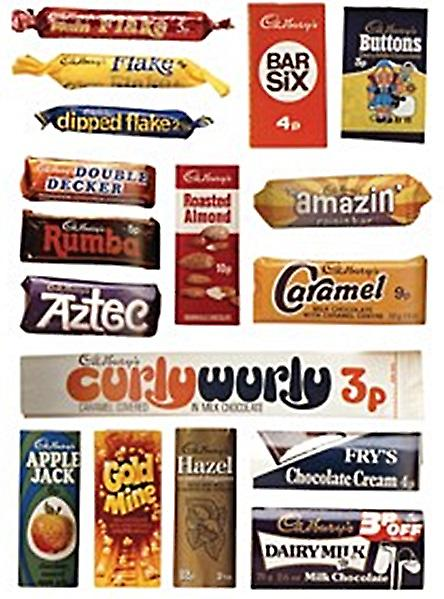 Cadburys wrappers steel sign  (hb)
