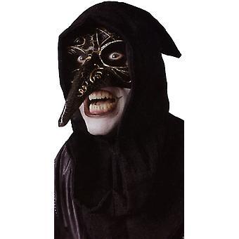 Venetian Raven Black Mask For Halloween