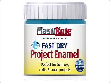 Plasti-kote Fast Dry Enamel Paint B23 Bottle Harbour Blue 59ml