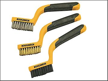 Roughneck Narrow Brush Set of 3