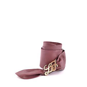 Liu Jo Burgundy Faux Leather Belt