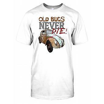Old Bugs Never Die - Classic VW Kids T Shirt