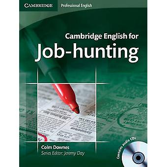 Cambridge English for Jobhunting Students Book with Audio by Colm Downes