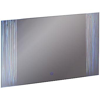 Forest - Led Illuminated 60 X 80cm Rectangular Wall Mirror With Demister And Dimmer