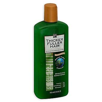 Schwarzkopf thicker fuller hair weightless conditioner, 12 oz