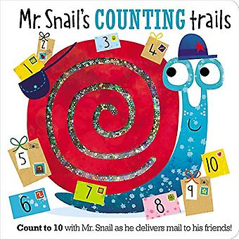 Mr. Snail's Counting Trails by Make Believe Ideas Ltd - 9781786928993