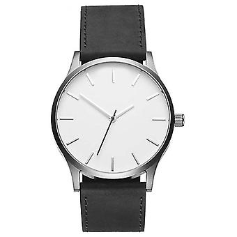 Men's large dial fashion watch