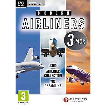 Modern Airliners Collection for FSX PC DVD Game
