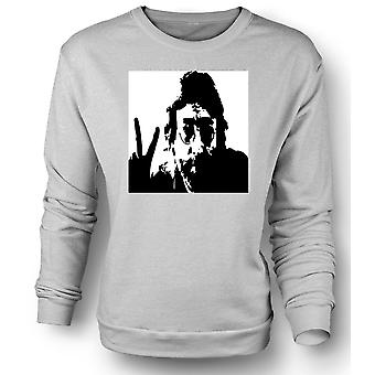 Womens Sweatshirt John Lennon - Anti War