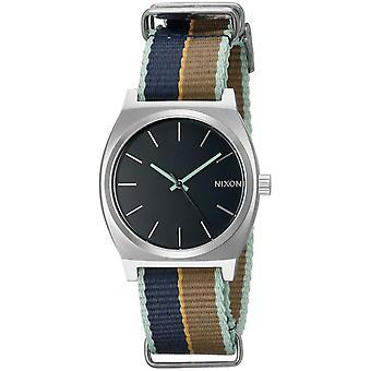 Nixon Time Teller Cloth Ladies Watch A0452079