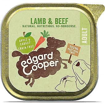 Edgard & Cooper Lamb 150g & wołowiny z Apple & marchew mokry pies tacka