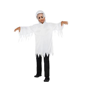 Ghost Ghost Robe with Built-in Veil Kids Costume Unisex Carnival Halloween Ghost Costume Kids