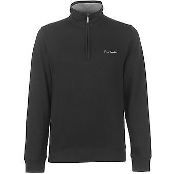 Pierre Cardin Mens Quarter zeppo ribbed maglia maglione a maniche lunghe Top