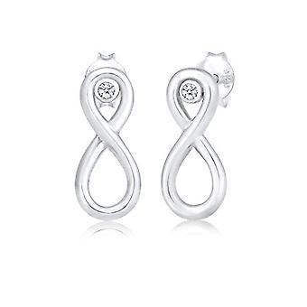 Elli Premium Silver Women's Pin Earrings 309670417