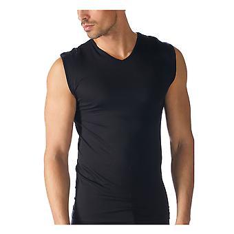 Mey Männer 42537-123 Männer Software schwarz einfarbig ausgestattet ärmellos
