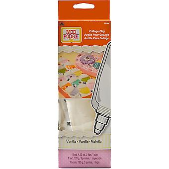 Mod Podge Collage Clay Vanilla White Mpclay 25144