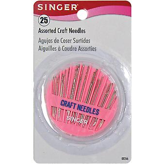 Craft Needle Compact Assorted 25 Pkg 266