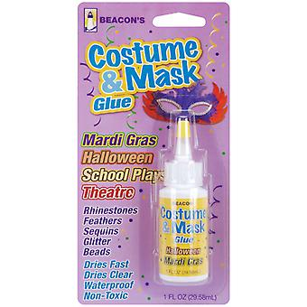 Costume & Mask Glue 1 Ounce Mg1ozbbc