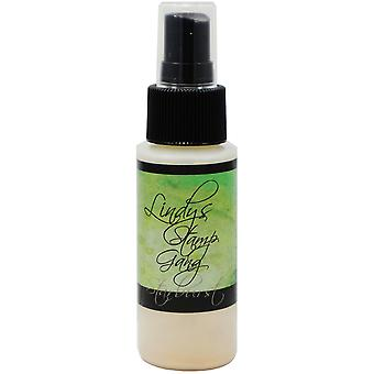 Lindy's Stamp Gang Starburst Spray 2Oz Bottle Edelweiss Moss Green Sbs 70