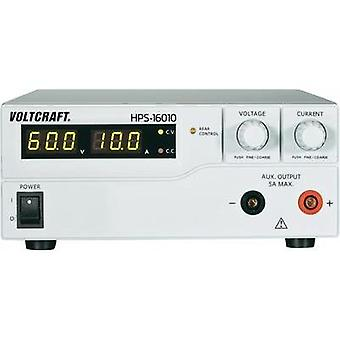 Bench PSU (adjustable voltage) VOLTCRAFT HPS-16010 1 - 60 Vdc 0 - 10 A 600 W Remote No. of outputs 1 x