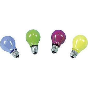 Light bulb Barthelme 230 V E27 25 W Yellow Pear shape Content 1 pc(s)
