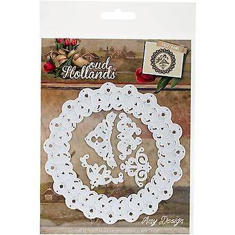Find It Trading Amy Design Oud Hollands Die-Tulip Frame ADD10047
