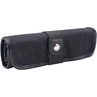 Canvas Pencil Roll Ups Holds 36-Black 369360