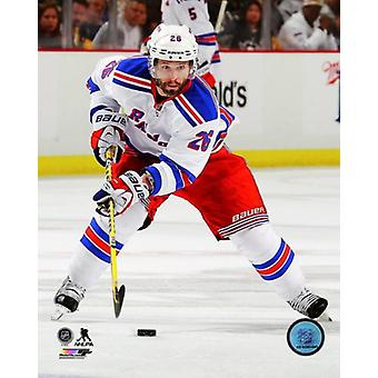 Martin St Louis 2013-14 Playoff Action Photo Print