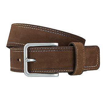 LLOYD Men's belt belts men's belts suede beige 4038