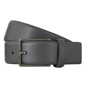DANIEL HECHTER belts men's belts leather belt grey 4854