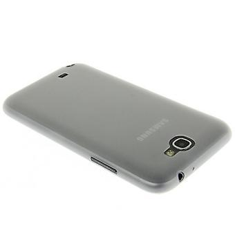 Protective cover case ultra thin 0.3 mm for mobile Samsung Galaxy touch 2 N7100 transparent