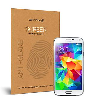Celicious Matte Samsung Galaxy S5 Plus Anti-Glare Screen Protector [Pack of 2]