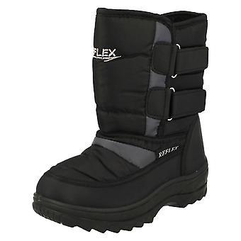 Childrens Unisex Reflex Snow Boots N2013