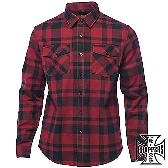 West Coast choppers skjorta flanell Austin