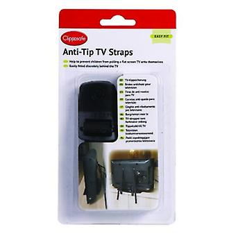 Clippasafe Anti-Tilt Strips Tv (Furniture , Child's , Safety)