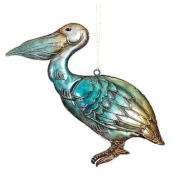 Montego Bay Pelican Christmas Holiday Ornament