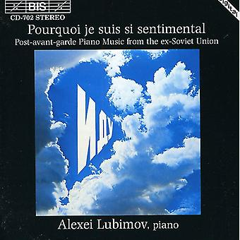 Mansuryan, Tigran Yeghiayi/del, Arvo/Pelecis, Georgs - Pourquoi Je Suis Si Sentimental [CD] USA import