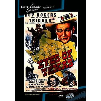 Eyes of Texas [DVD] USA import