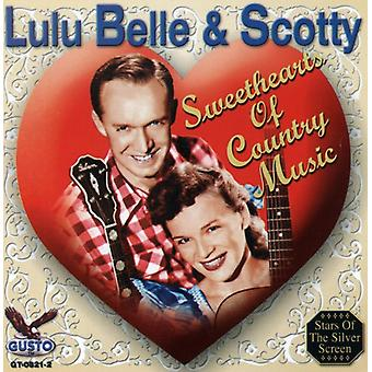 Lulu Belle & Scotty - Sweethearts of Country Music [CD] USA import