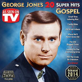 George Jones - 20 Super Hits Gospel [CD] USA import