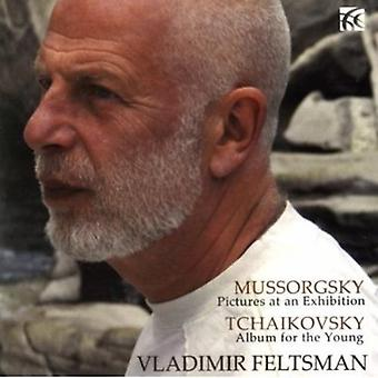 Moessorgski - Mussorgsky: Schilderijen van een tentoonstelling; Tchaikovsky: Album voor de jonge [CD] USA importeren