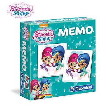 Clementoni Shimmer&Shime Juego Memory (Toys , Boardgames , Skills)
