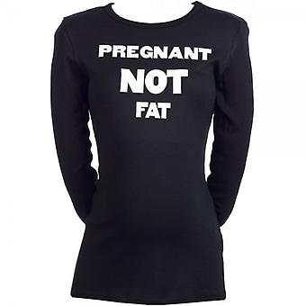 Spoilt Rotten Pregnant NOT Fat Maternity T-Shirt