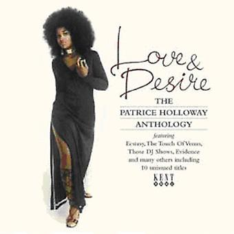 Patrice Holloway - Love & Desire: Patrice Holloway Anthology [CD] USA import