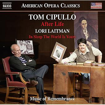 Cipullo / Cook / Music of Remembrance / Miller - After Life - Lori Laitman: In Sleep the World Is [CD] USA import