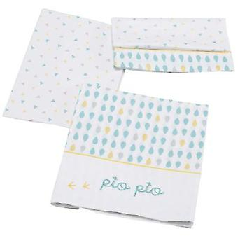 Micuna Game Sheets Cradle 120x60 (3 pieces) Tx-821 Pio-Pio