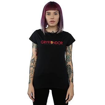 Harry Potter Women's Gryffindor Text T-Shirt